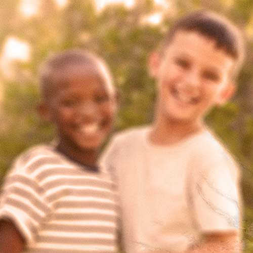 Blurred Image Of Kids