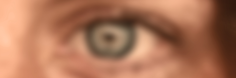 Blurred Image Of Human Eye